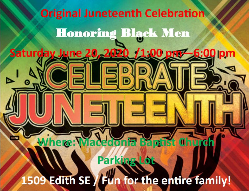 Celebrate Original Juneteenth