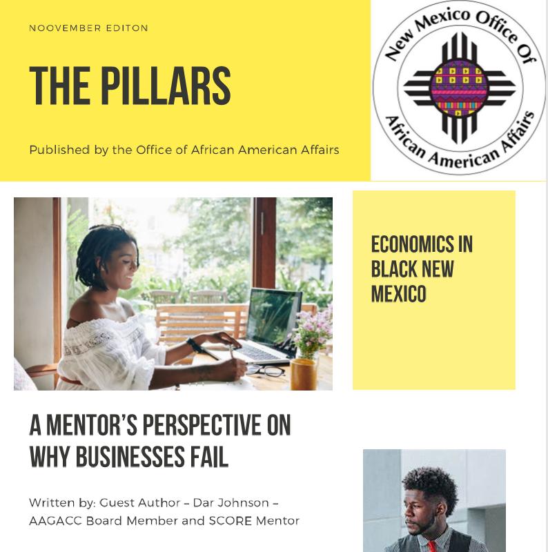 The Pillars – November Edition